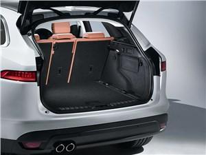 Предпросмотр jaguar f-pace 2016 багажное отделение