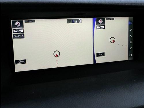 Предпросмотр lexus gs f 2016 экран мультимедиасистемы