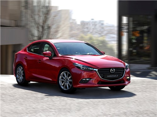 Азиатский спор 3 - Mazda 3 sedan 2017 вид спереди