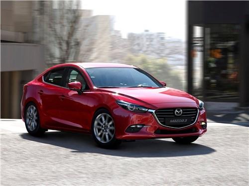 Охота на лидера 3 - Mazda 3 sedan 2017 вид спереди
