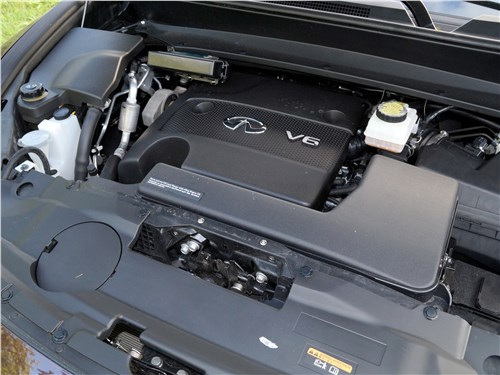 Infiniti QX60 2016 двигатель