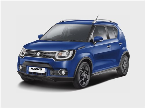 Промежуточное звено (Fiat Panda, Suzuki Ignis, Suzuki Liana, Subaru Impreza) Ignis - Suzuki Ignis 2016 вид спереди
