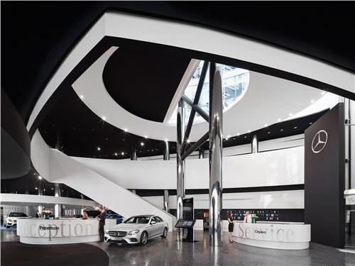 Шоурум Mercedes