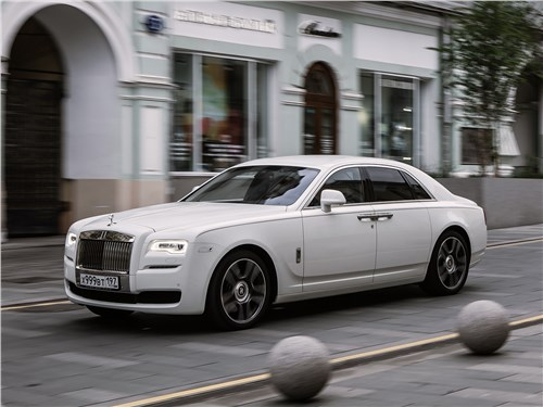 Rolls-Royce Ghost - Rolls-Royce Ghost 2015 вид спереди