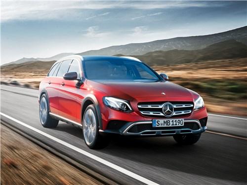 Mercedes-Benz E-Klasse All-Terrain 2017 вид спереди