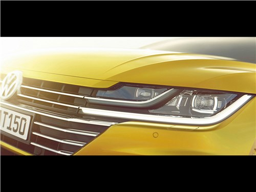 Закрытый показ: Volkswagen Arteon