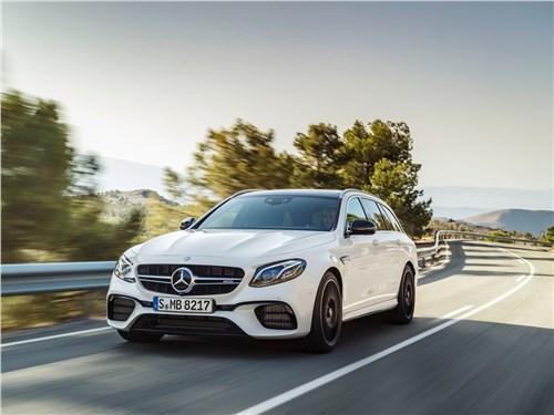 Когда «бюргеры» дерутся: Audi A6 против Mercedes-Benz E-Class E-Class AMG - Mercedes-Benz E63 S AMG Estate 2018 вид спереди