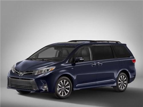 Новость про Toyota - Toyota Sienna