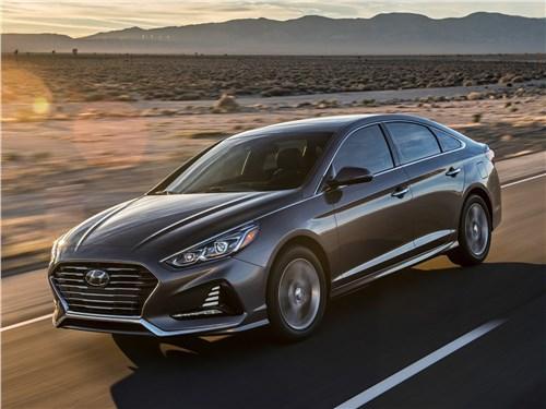 Hyundai Sonata 2018 вид спереди