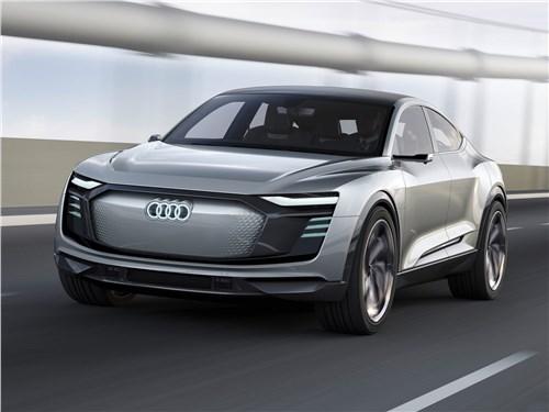 Предпросмотр audi e-tron sportback concept 2017 вид спереди