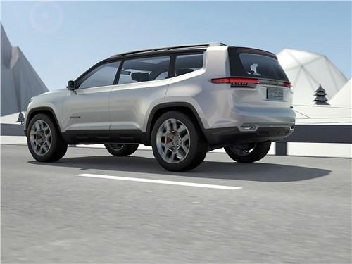 Предпросмотр jeep yuntu concept 2017 вид сбоку