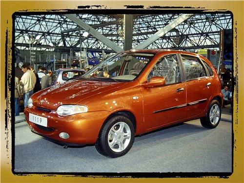 2. Впервые представлена принципиально новая модель из Тольятти ВАЗ-1119 «Калина»