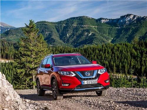 Сквозь горизонт X-Trail - Nissan X-Trail 2018 вид спереди