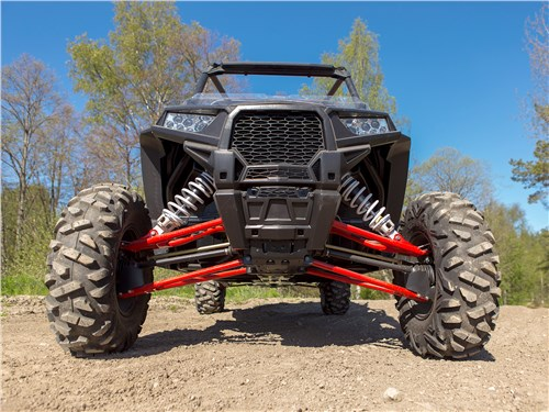 Polaris RZR XР4 Turbo EPS вид спереди