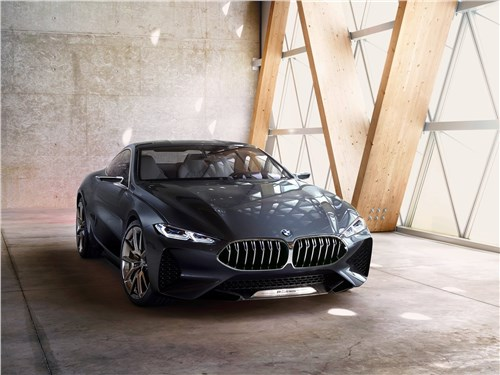 Предпросмотр bmw 8-series concept 2017 вид спереди