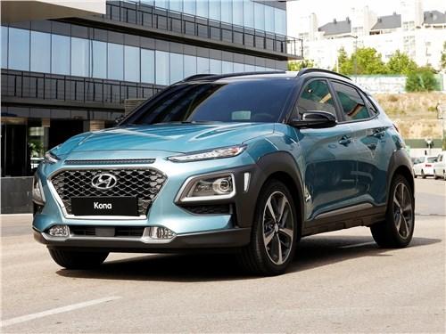 Hyundai Kona - Hyundai Kona 2018 вид спереди