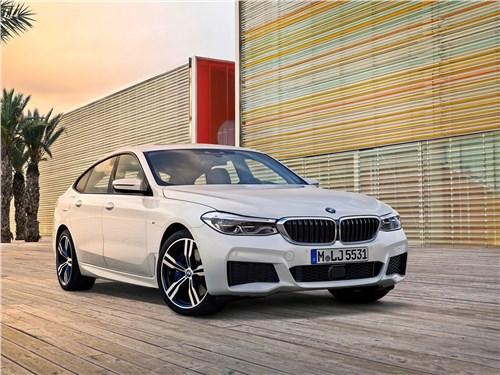 Летом лучше без крыши (Обзор российского рынка открытых автомобилей - 2007) 6 series - BMW 6-Series Gran Turismo 2018 вид спереди