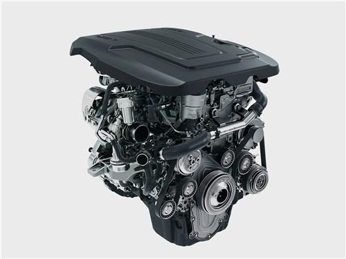 Jaguar F-Pace 2018 двигатель