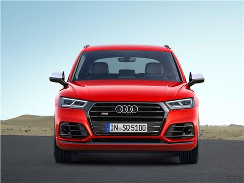 Audi SQ5 3.0 TFSI 2018 вид спереди