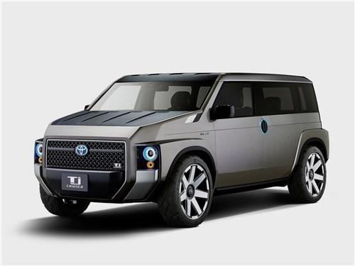Предпросмотр toyota tj cruiser concept 2017 вид спереди