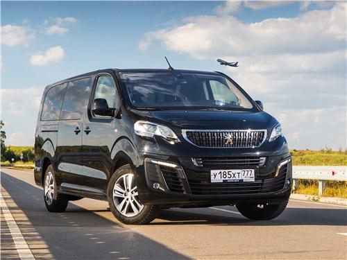 Peugeot Traveller 2018 вид спереди