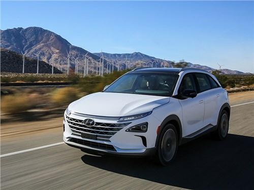 Hyundai показал свой новый водородный кроссовер