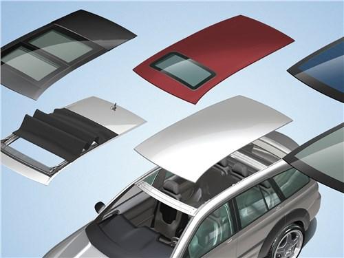 В качестве альтернативы традиционной крыше Webasto предлагает самые разные варианты ее остекления
