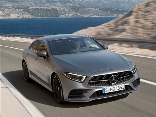 Mercedes-Benz CLS 2019 вид спереди