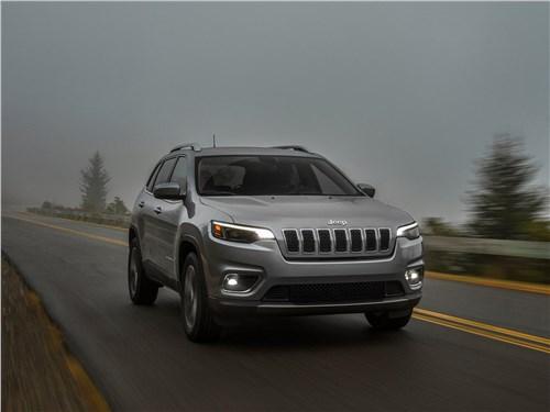 В своей стихии Cherokee - Jeep Cherokee 2019 вид спереди