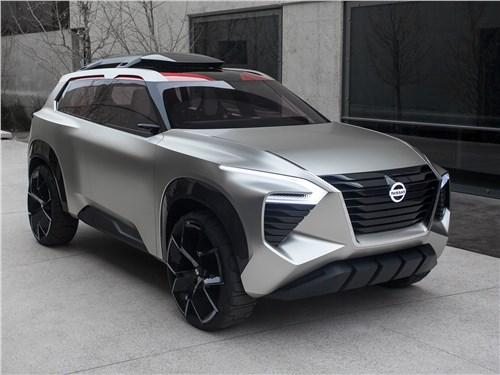 Новый Nissan Xmotion - Nissan Xmotion Concept 2018 Золотая рыбка