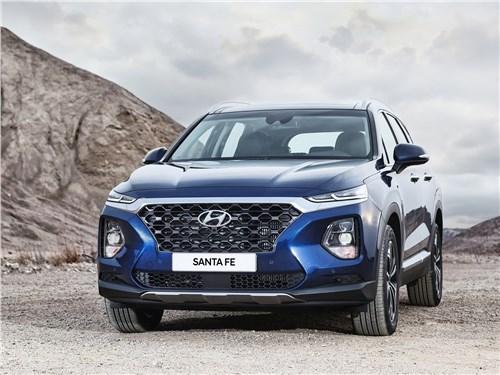 Hyundai Santa Fe и Renault Koleos: внешность имеет значение Santa Fe - Hyundai Santa Fe 2019 вид спереди
