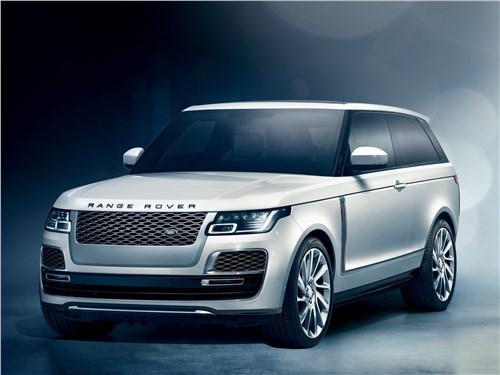 Двое на одного (BMW X1 (2012), Audi Q3 (2012), Range Rover Evogue (2012)) Range Rover - Land Rover Range Rover SV Coupe 2019 вид спереди