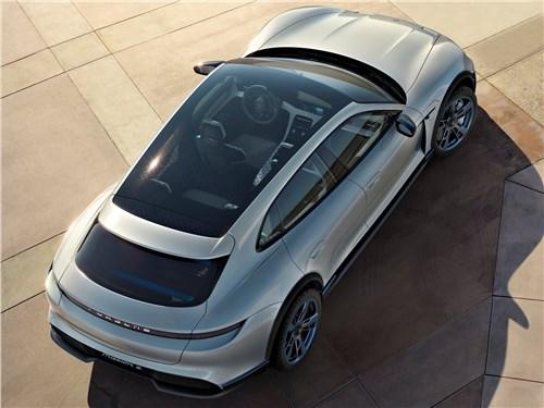 Porsche Mission E Cross Turismo Concept 2018 вид сверху