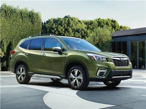 Герои нашего времени Forester - Subaru Forester 2019 вид спереди