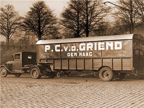 Уже в 1932 году DAF начала выпускать 5-тонные прицепы