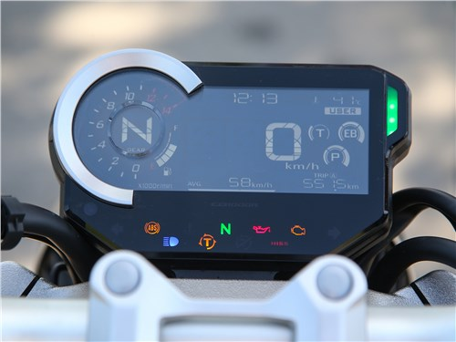 Honda CB1000R Neo Sports Cafe приборная панель