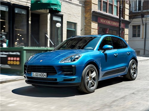 Новость про Porsche Macan - Porsche Macan 2019
