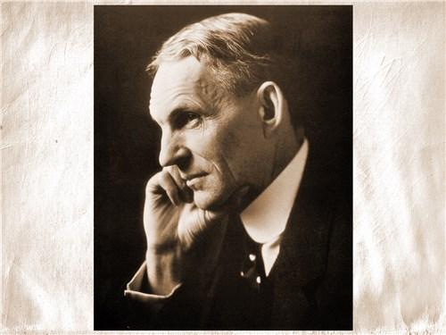 Генри Форд первым ввел конвейерную систему на автопроизводстве