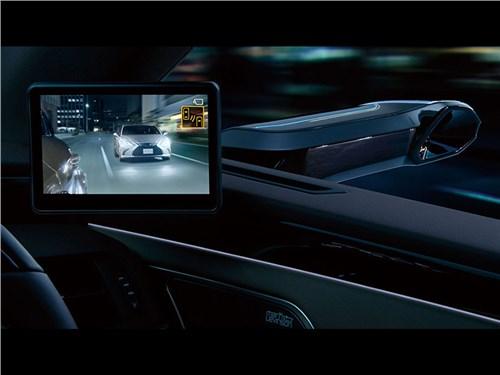 Новость про Lexus ES - А вот и камеры вместо зеркал. Лексус начал продажи новинки