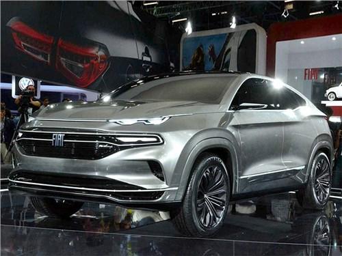 Новость про Fiat - Fiat Fastback SUV концепт