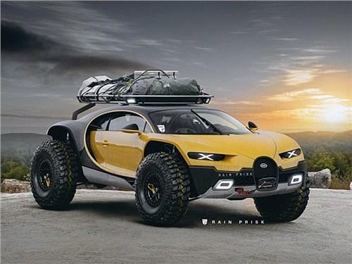 Из Bugatti Chiron сделали внедорожник