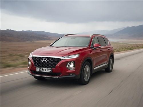 Hyundai Santa Fe 2019 вид спереди