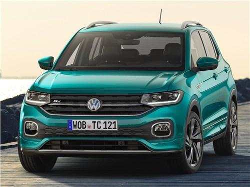 Предпросмотр volkswagen t-cross 2019 вид спереди