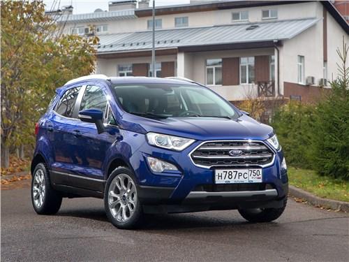 Предпросмотр ford ecosport 2018 вид спереди