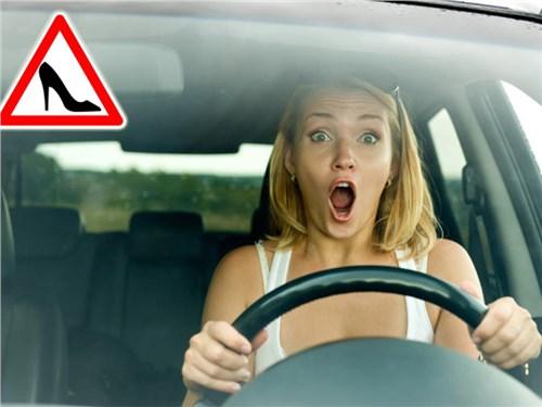 Облава на водителей-женщин