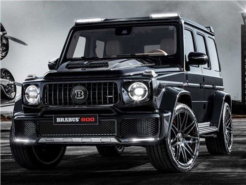 Новость про Maybach - Brabus 800 Widestar