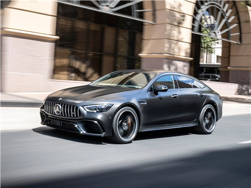 Mercedes-AMG GT 4-Door Coupe 2019 вид спереди
