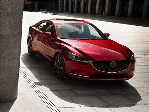 Эмоции и расчет 6 - Mazda 6 2018 вид спереди