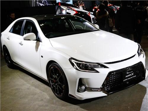 Toyota снимет с конвейера Mark X