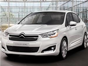 В апреле в Калуге начнется выпуск седана Citroen С4